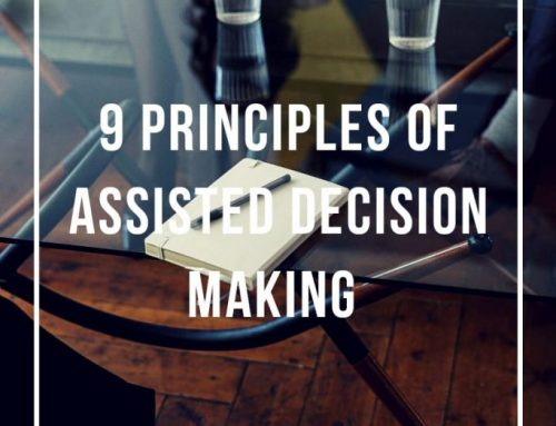 9 Principles of Assisted Decision-Making