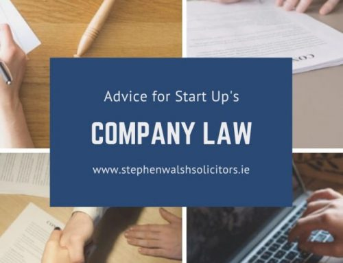 Company Law – Advise for Start Up's